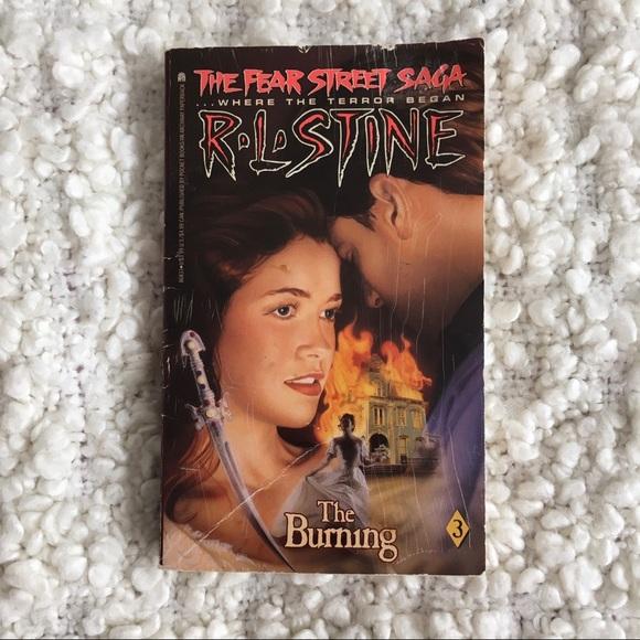 R L Stine Fear Street Saga #3 The Burning